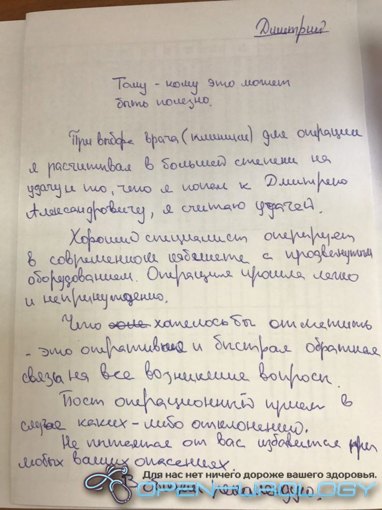 Отзыв Дмитрий Александрович Соколов
